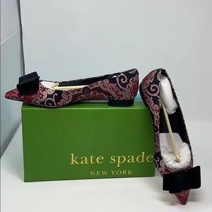 Kate Spade Keana flat shoes multi brocade size 9.5